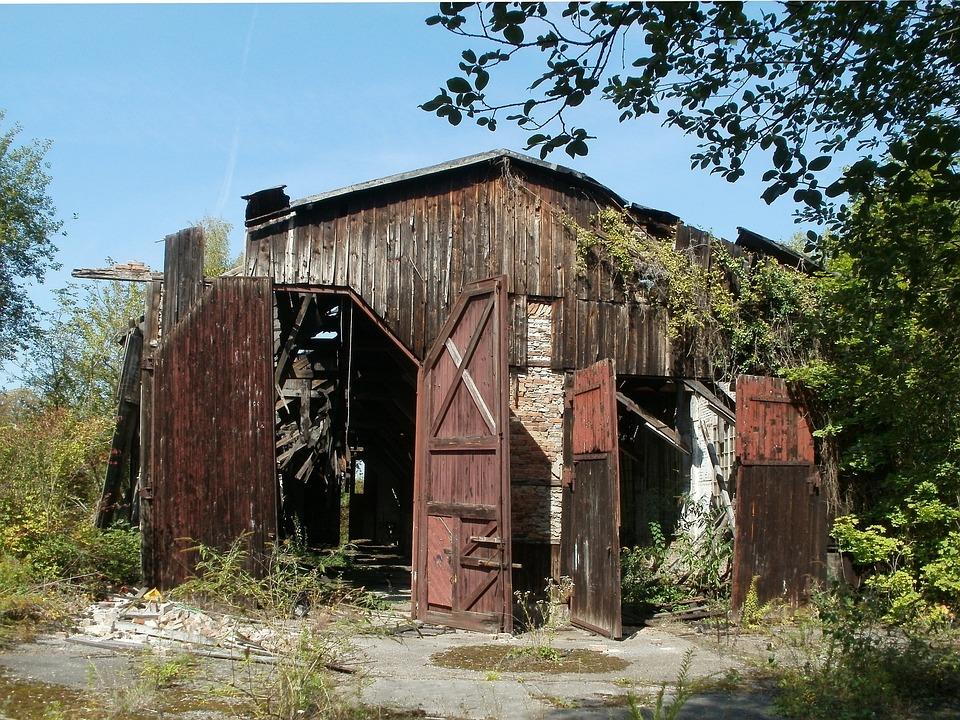 Abandoned, Railway, Service, Schwetzingen, Engine Shed