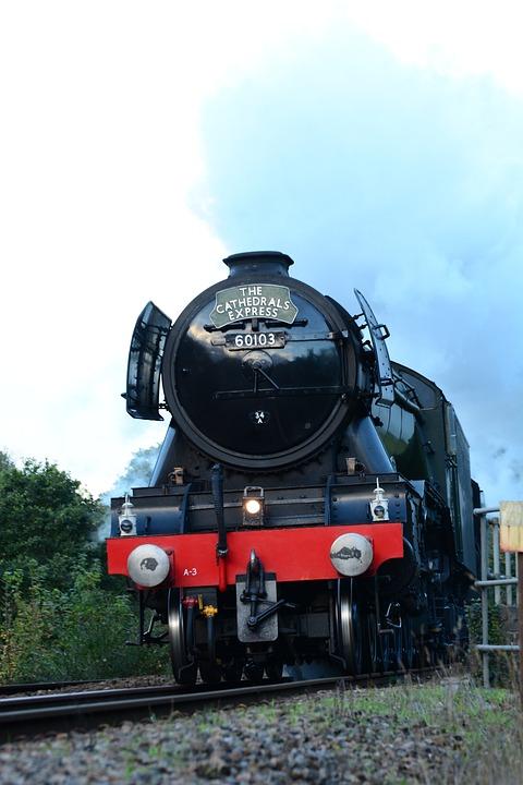 Flying, Scotsman, Train, Railway, Engine
