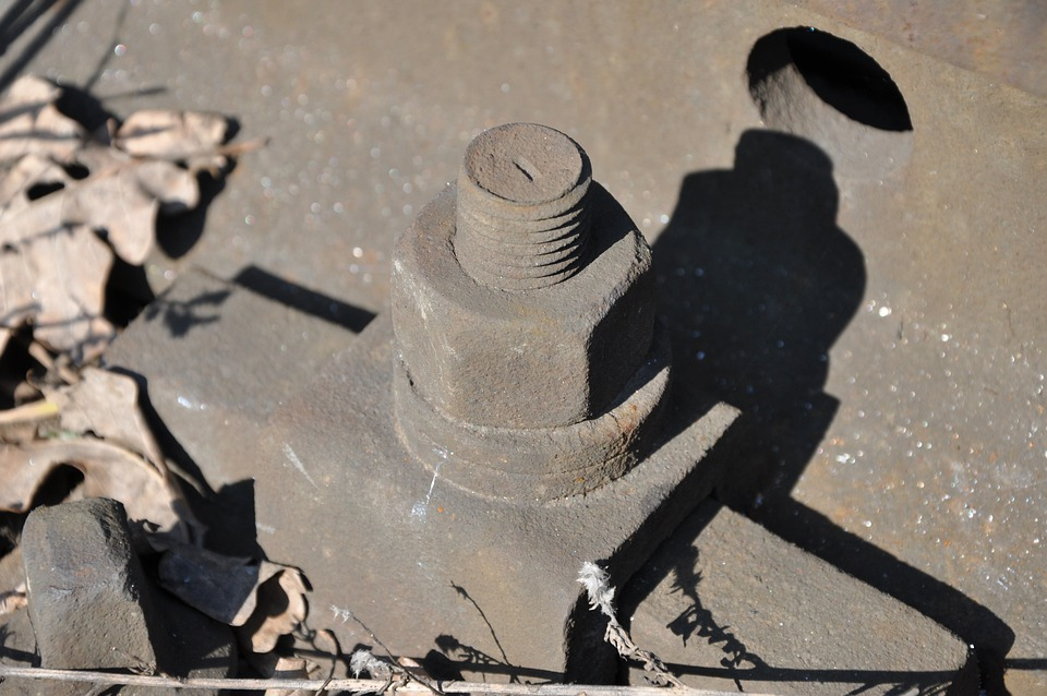 Tracks, Railroad Tracks, Railway, Screw