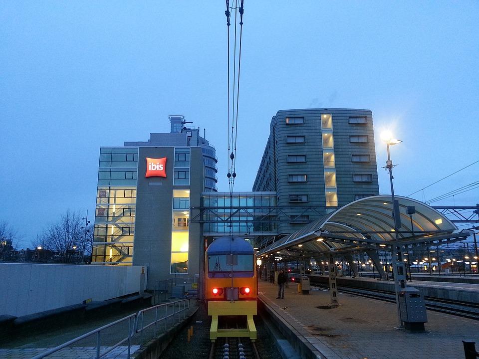 Railway Station, Rail Traffic, Railway, Gleise, Seemed
