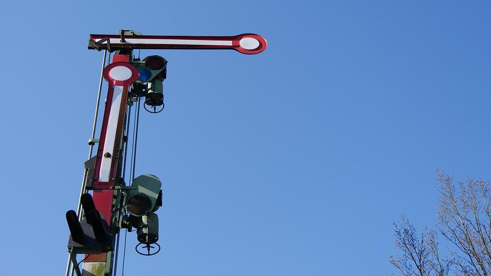 Signal, Containing, Railway Signal