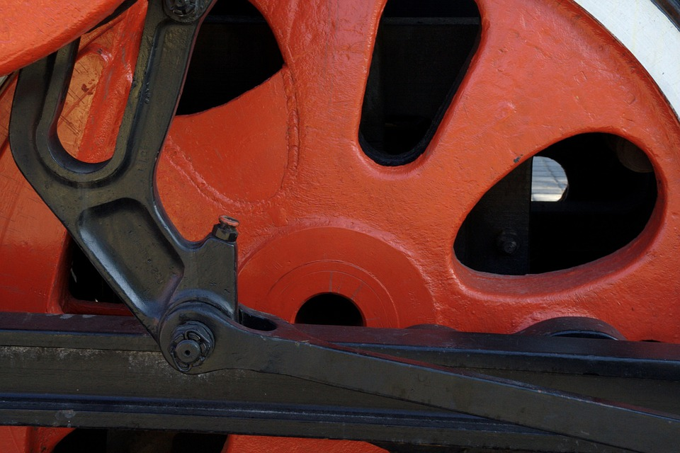 Spoke Wheel, Wheel, Railway, Mechanics, Machine, Museum