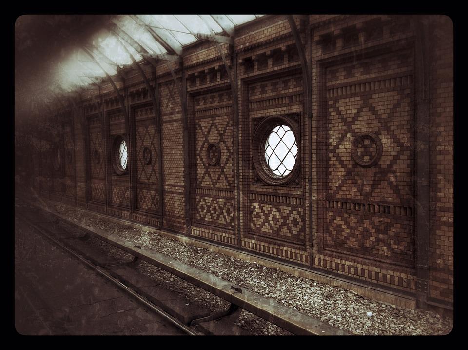 Railway Station, S Bahn, Architecture, Tracks, Berlin