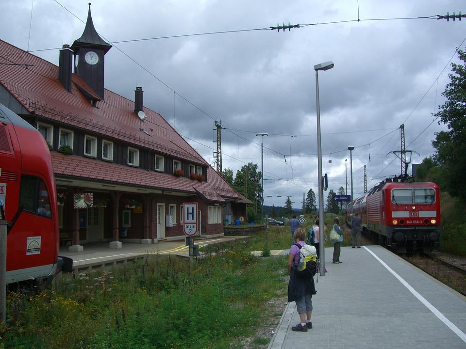 Bear Valley, Platform, Railway Station, Railroad Track