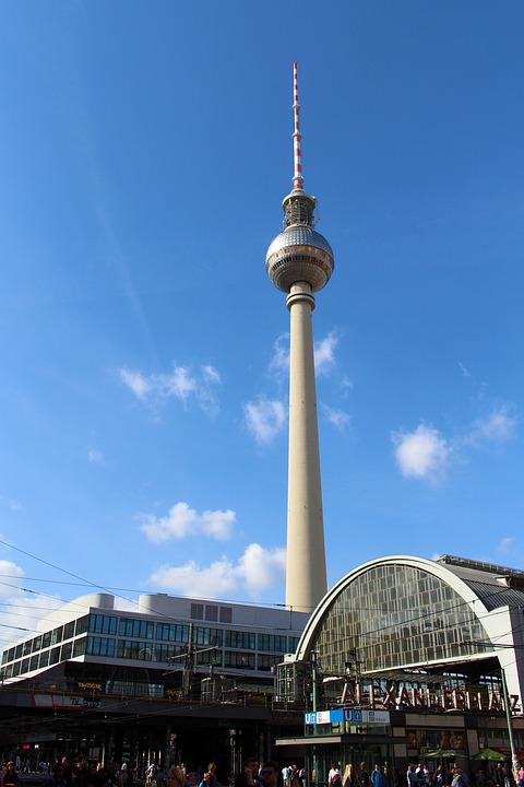 Railway Station, Berlin, Metro Station, Crowd