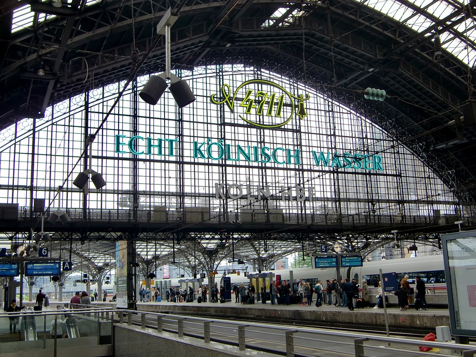 Cologne, Railway Station, Cologne Main Station
