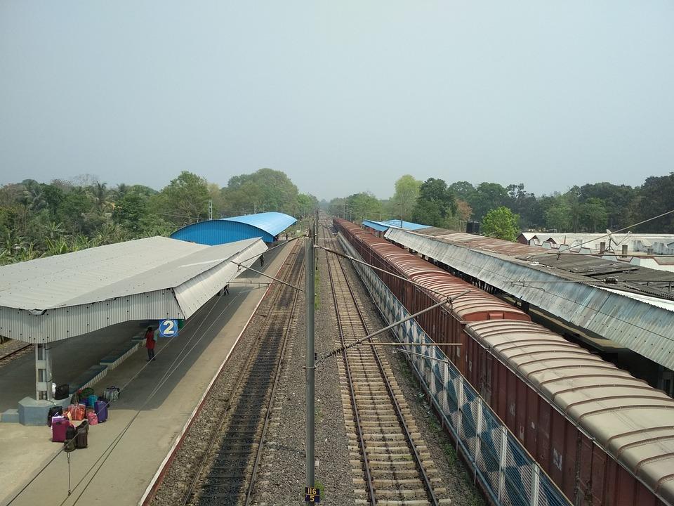 Railway, Railway Station, Landscape