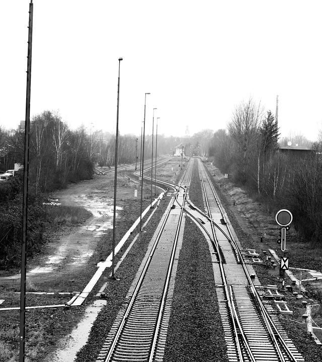 Track, Train, Rails, Railway, Railway Station