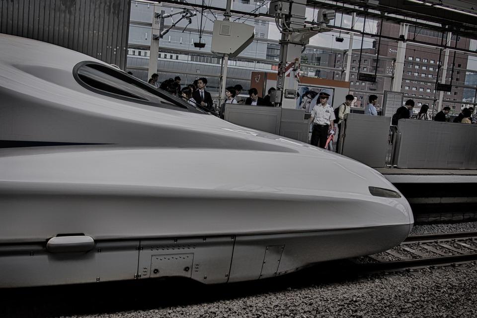 Shinkansen, Japan, Railway Station, Travel, Railway