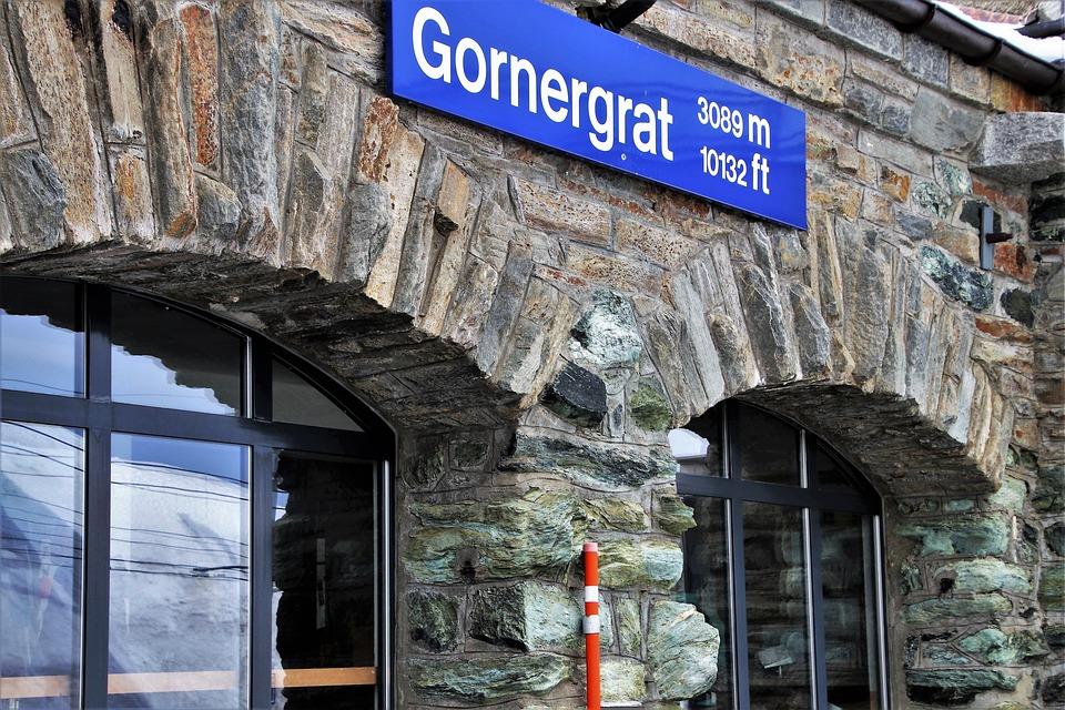 Railway Station, Zermatt, The Alps, Gornergrat, Window