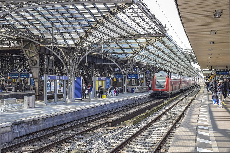 Architecture, Railway Station, Urban, Traffic, Building