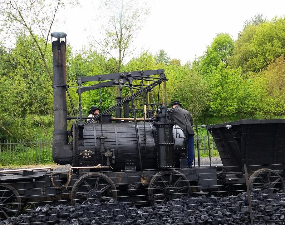 Durham, Beamish Museum, Steam, Locomotive, Railway