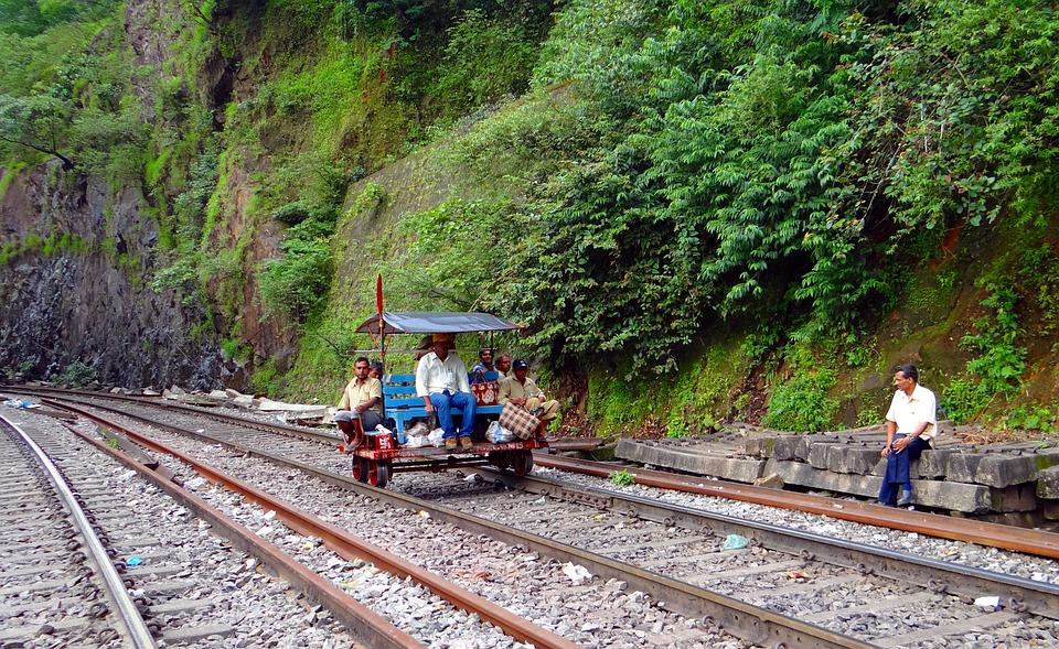 Track Inspection Car, Railway Track, Indian Railways