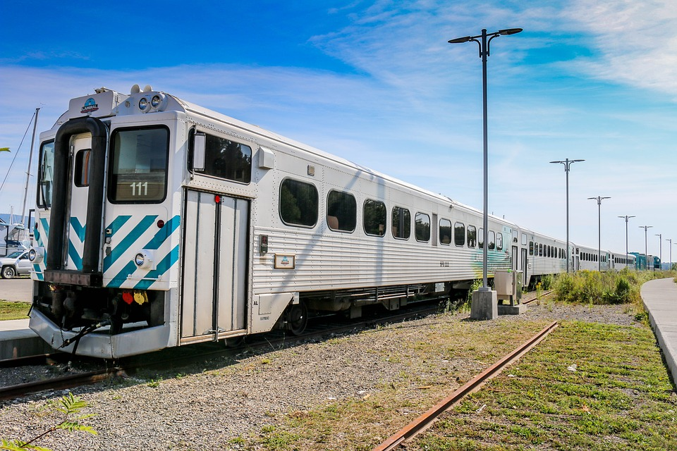 Train, Railway, Railway Line, Transport System, Travel