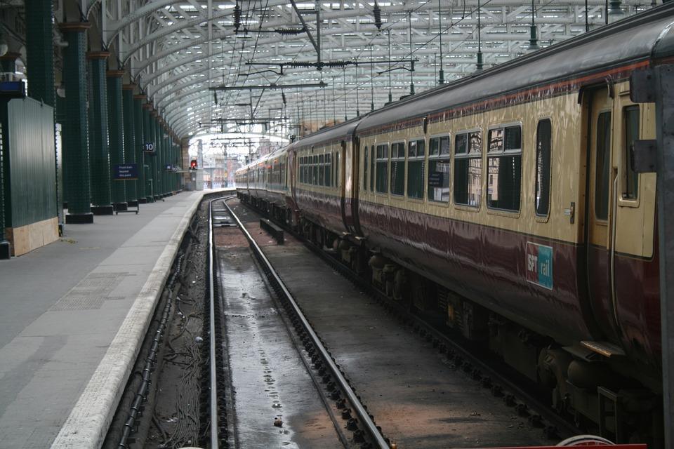 Train, Train Station, Railroad, Railway, Trainstation