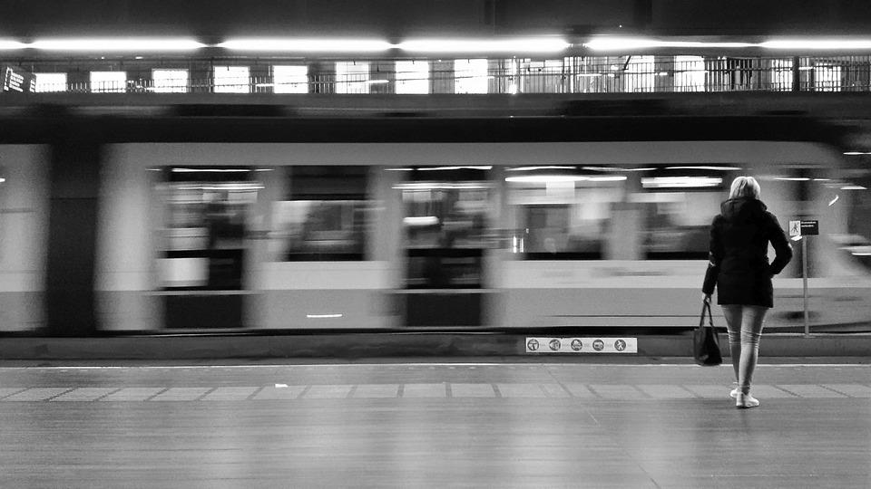 Rail, Movement, Transport, Metro, Railway, Station