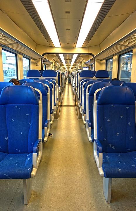 Railway, Transport, Public Transport, Vehicle, Train