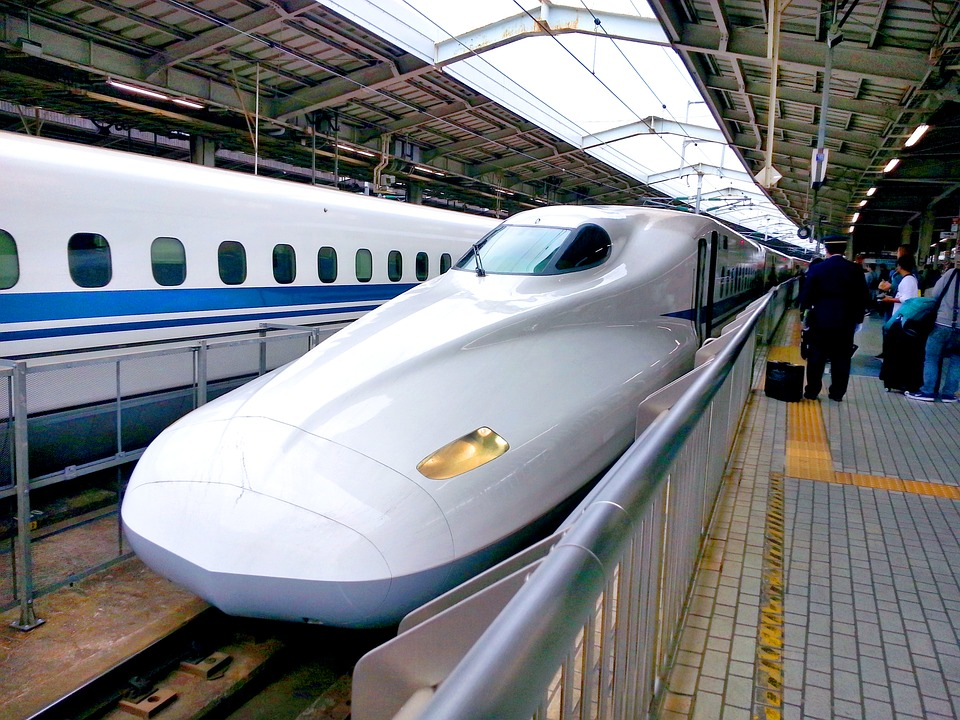Bullet Train, Shinkansen, Railway, Travel, Rail, Japan