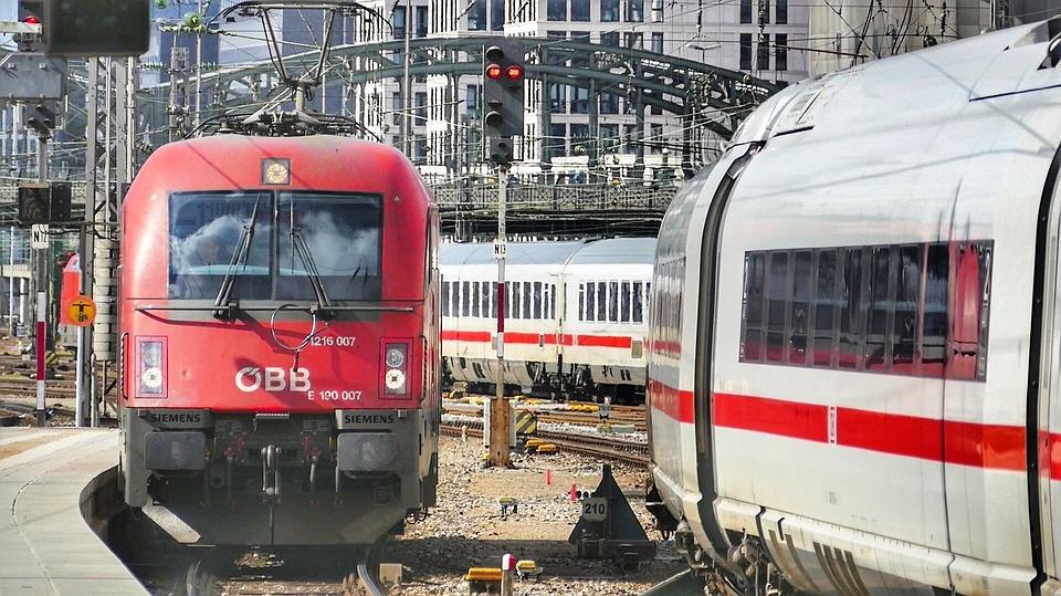Train, Railway, Transport System, Railway Line, Travel