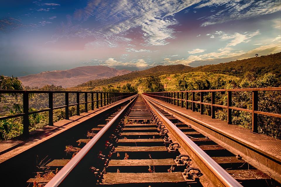 Railway Track, Travel, Railroad, Railway