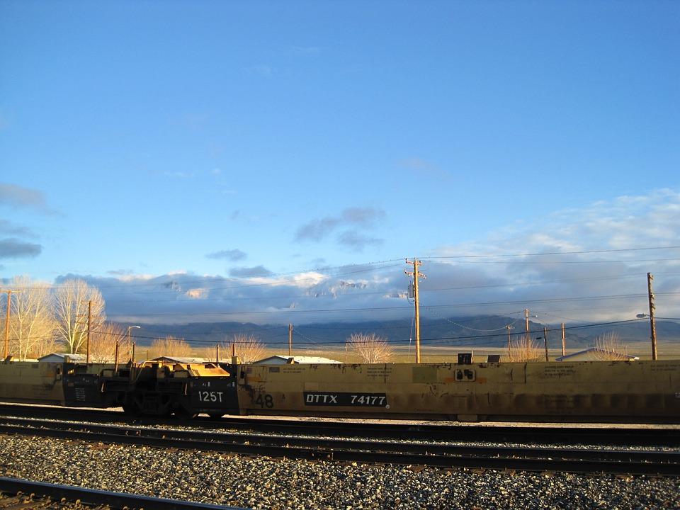 Death Valley, Railways, Desert, Railway, Railroad