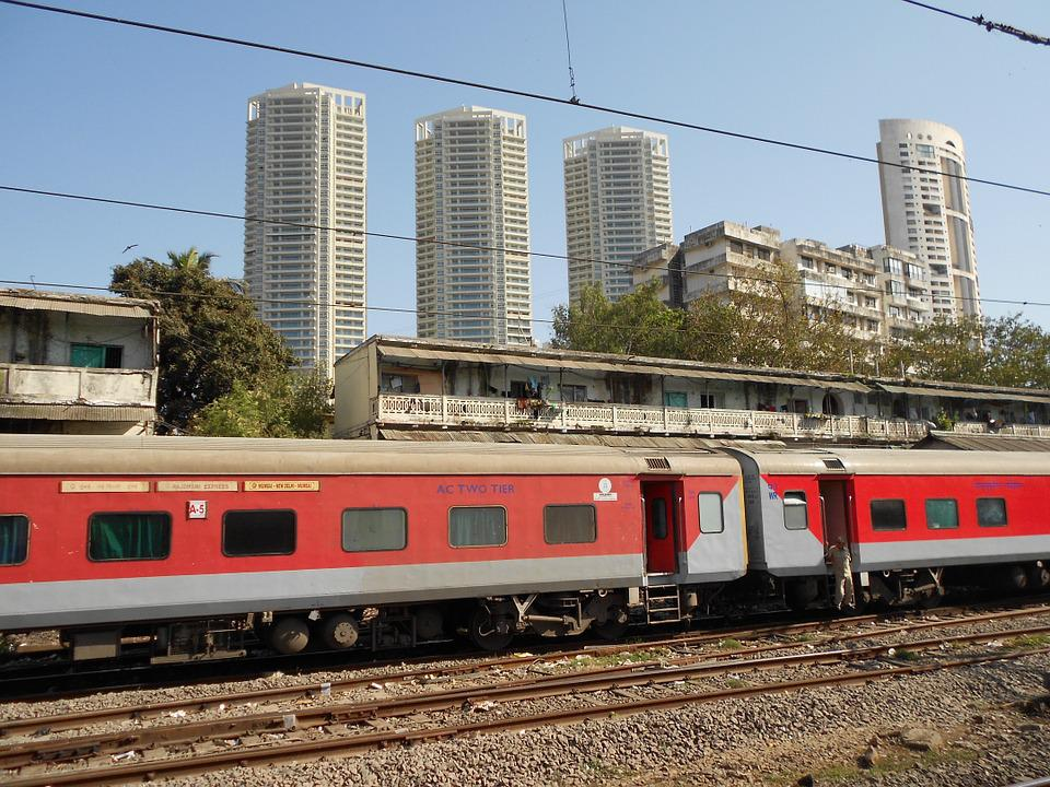 Train, Railways, Transport, India, Mumbai