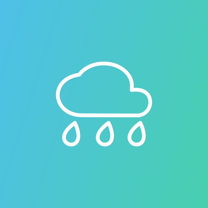 Cloud, Rain, Icon, Weather, Climate, Meteorology
