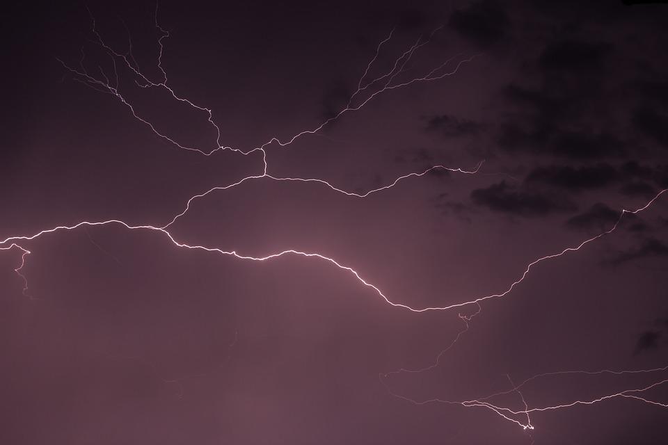 Lightning, Storm, Rain, Weather, Thunder, Sky, Bolt
