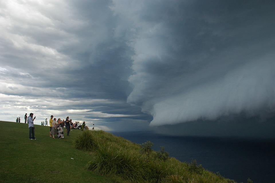 Storm, Clouds, Weather, Sky, Rain, Bald Hill