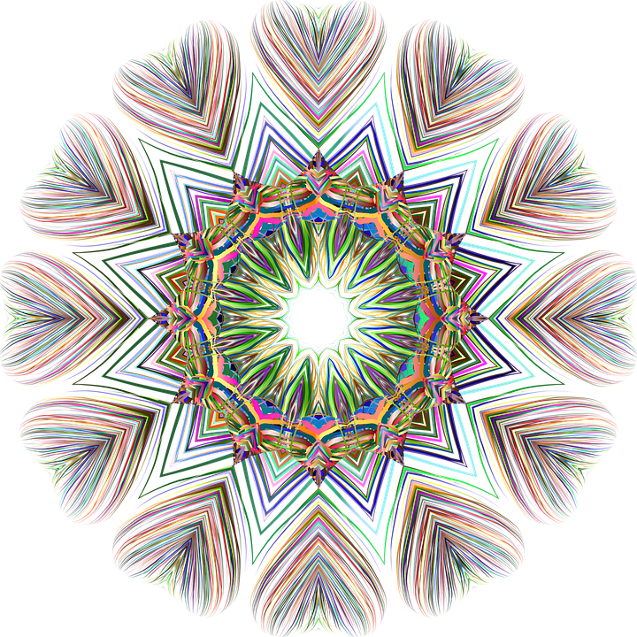 Colorful, Prismatic, Chromatic, Rainbow, Abstract