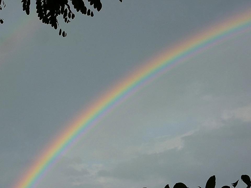 Rainbow, Color, Arch, Rain, Nature, Colorful, Sky