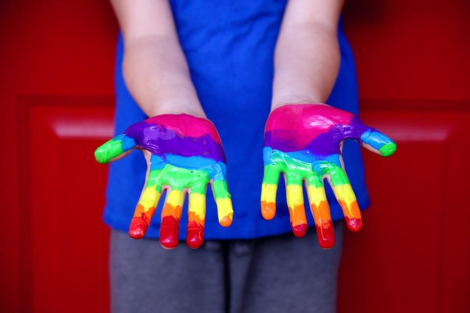 Human Rights, Equality, Rainbow, Lgbt, Human, Diversity