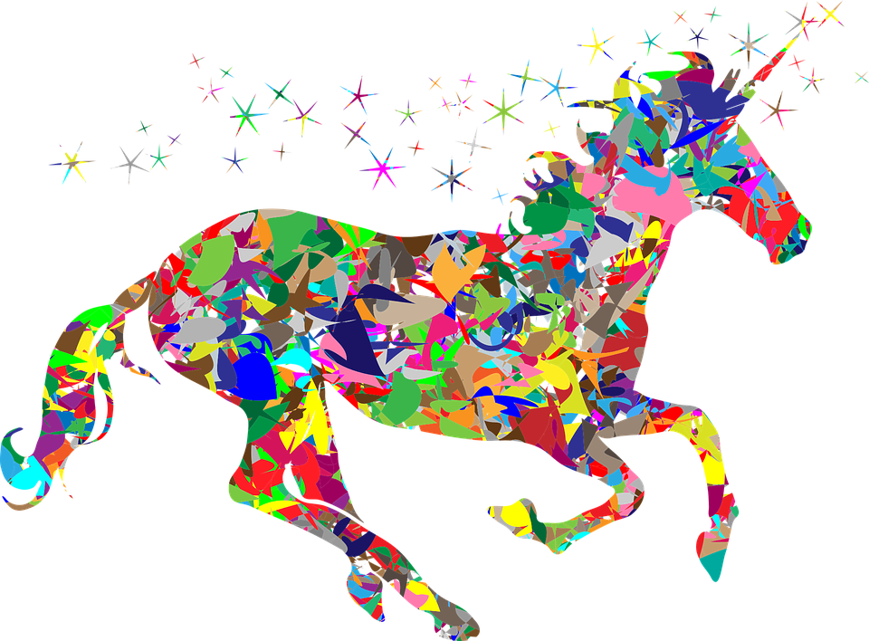 Colorful, Prismatic, Chromatic, Rainbow, Polygon