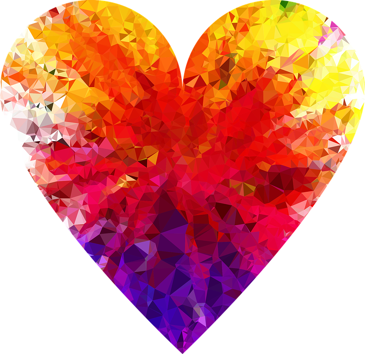 Colorful, Prismatic, Chromatic, Rainbow, Gem, Ruby