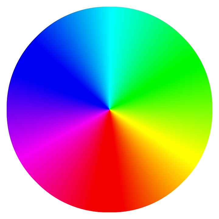 Colour Wheel, Spectrum, Rainbow, Color Wheel