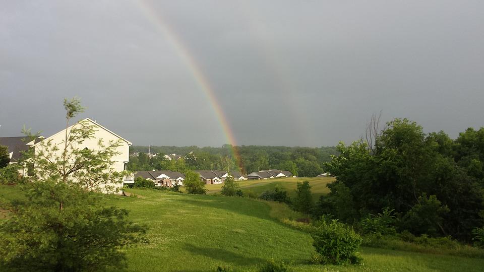 Rainbows, Double Rainbows, After The Rain
