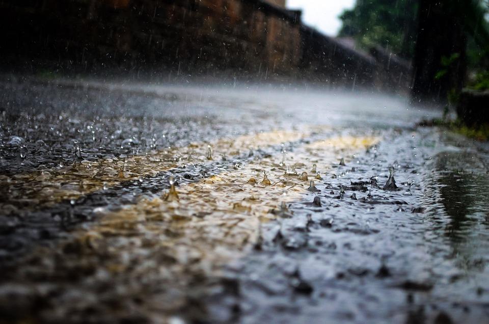 Rain, Raindrops, Seasons, Water, Macro, Element, Cloud