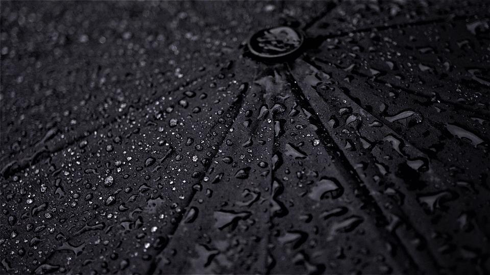 Umbrella, Rainy Weather, Background, Wet, Drop Of Water