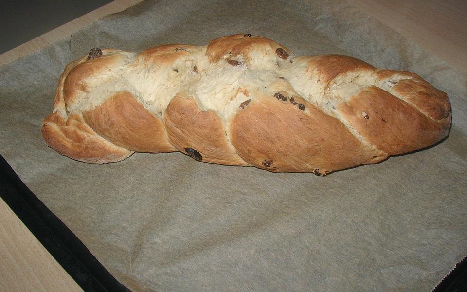 Raisin Braid, Raisin Bread, Bread, Bake, Homemade