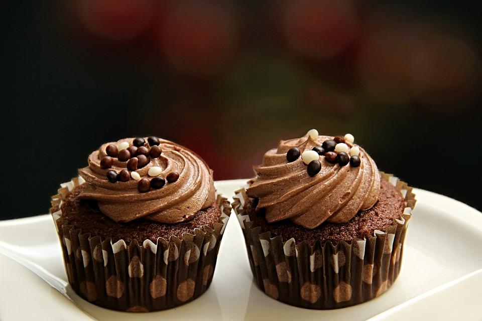 Muffin, Cake, Mini Cakes, Chocolate, Ramekins, Dough