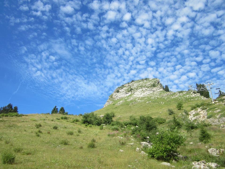 Haute-savoie, Mountain, Alps, Landscape, Rando