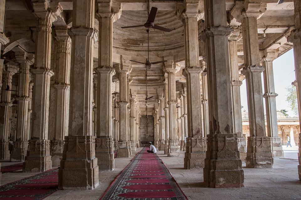 Rani Sipri's Mosque Tomb, Ahmedabad, India, Bibi Rajbai