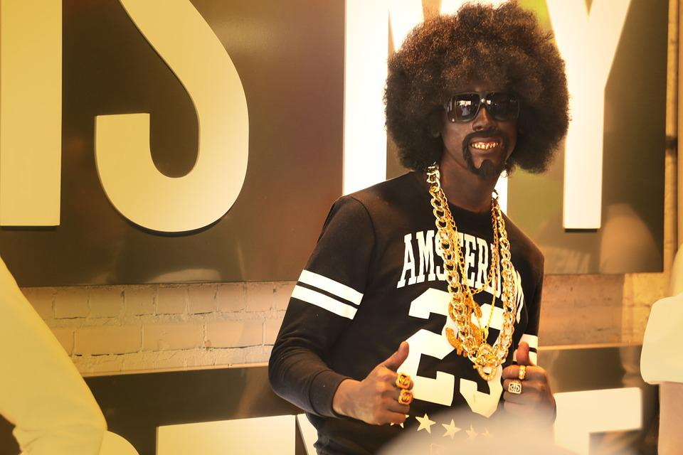 Human, Model, Afro, Gold Jewelry, Man, Rap Star