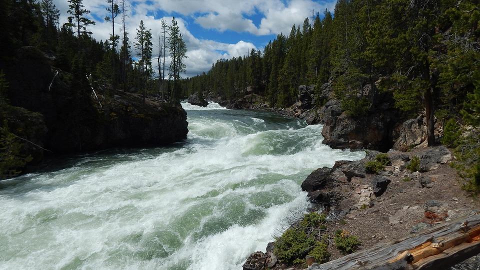 Rapids, Water, Rapid Waterfall