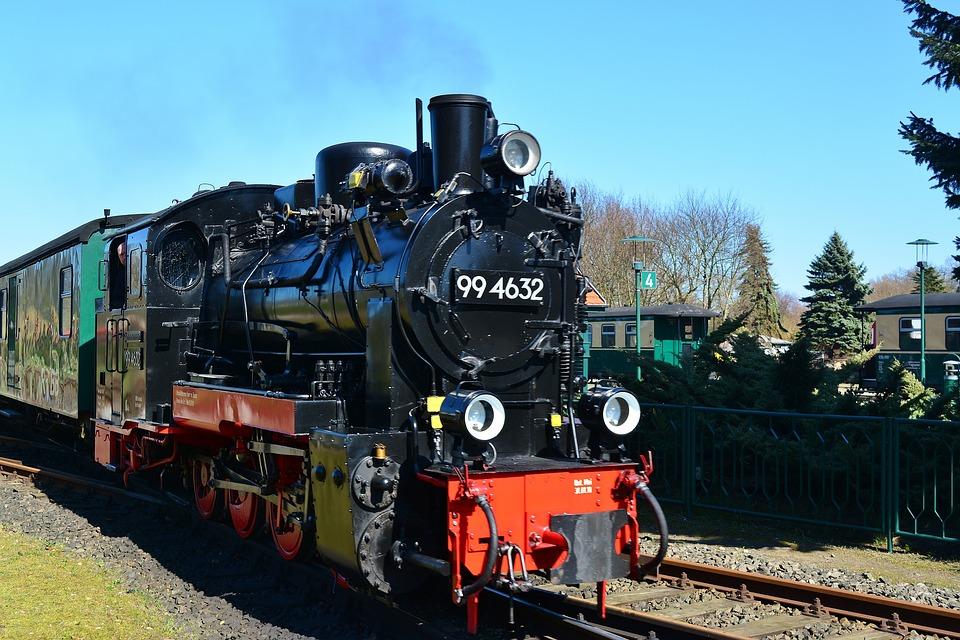 Steam Locomotive, Rasender Roland, Rügen