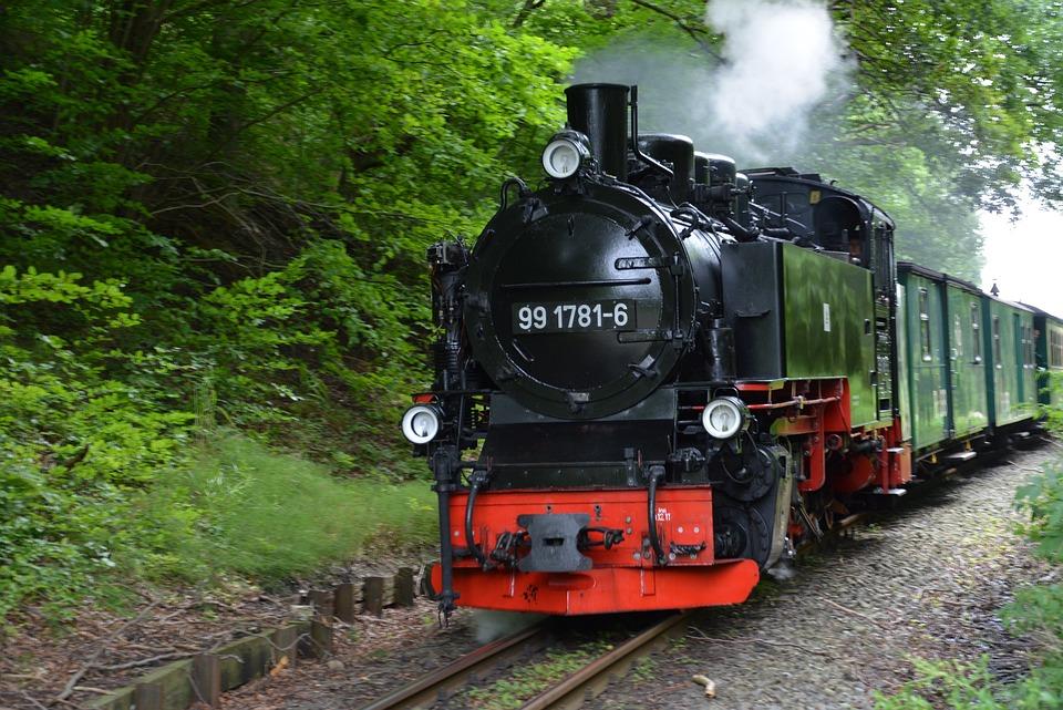 Rügen, Rasender Roland, Steam Locomotive, Steam Railway