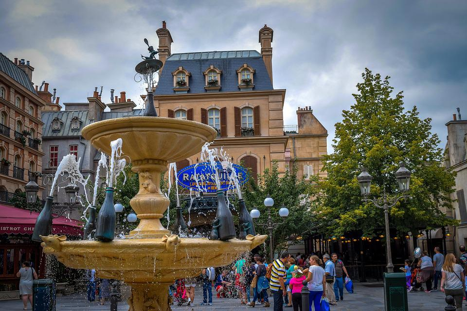 Disneyland, Ratatui, Paris, France, Building, Home