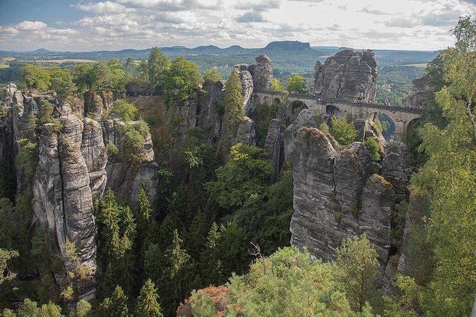 Saxon Switzerland, Bastei, Rathen