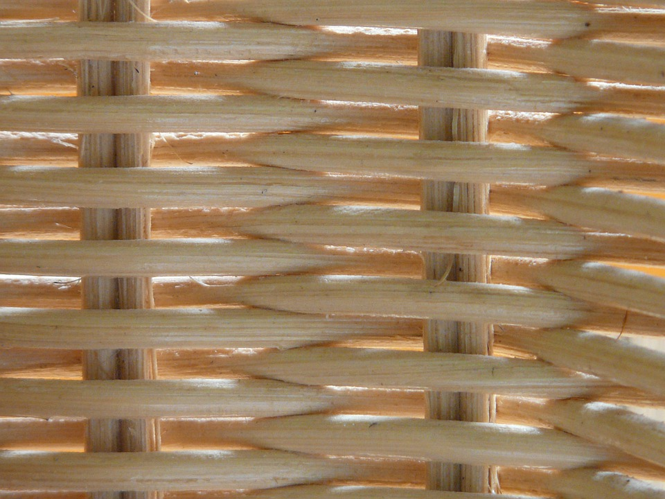 Rattan, Braid, Wicker, Basket, Woven, Hand Labor