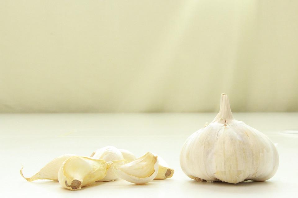 Garlic, Raw, Raw Garlic, White